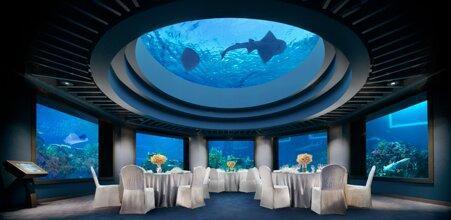 معرفی چند هتل زیر آب ، اقامت در کنار ماهی ها