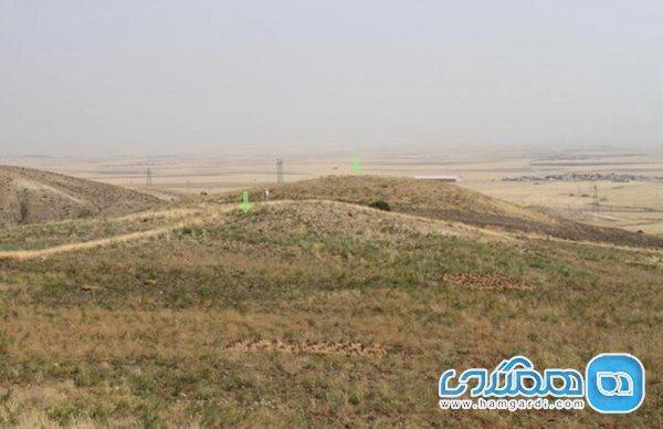 حمله قاچاقچیان به تپه اشکانی کرمانشاه در روزهای کرونایی