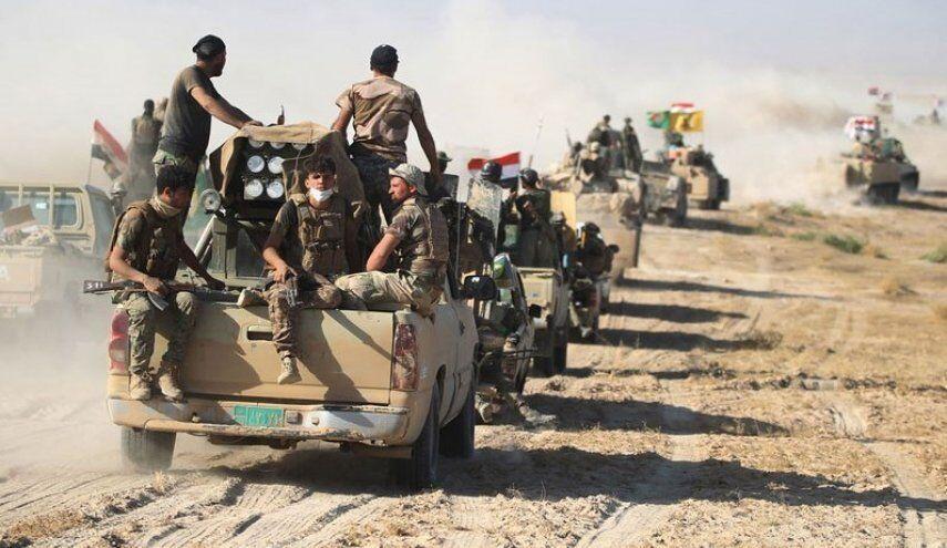 خبرنگاران آغاز عملیات الحشدالشعبی و ارتش عراق علیه داعش در صلاح الدین