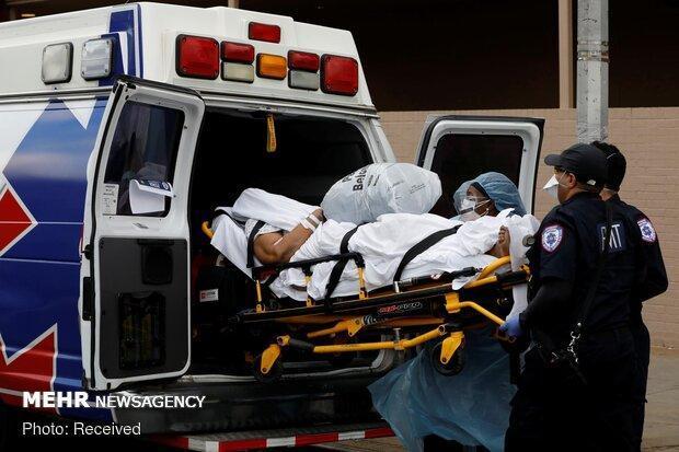 شمار قربانیان کرونا در آمریکا به حدود 59 هزار نفر رسید