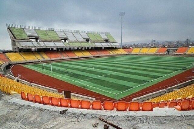خبرنگاران ورزشگاه فوتبال 15 هزار نفری ارومیه برای میزبانی آماده می شود