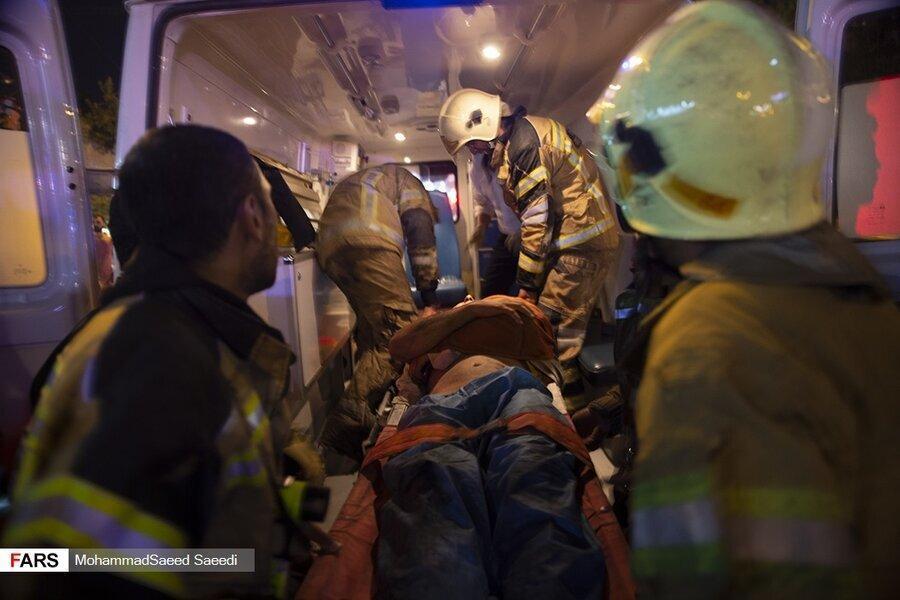 کشته های انفجار کلینیک سینا اطهر در تجریش به 19 نفر رسید ، مواد رادیواکتیو در محل وجود ندارد