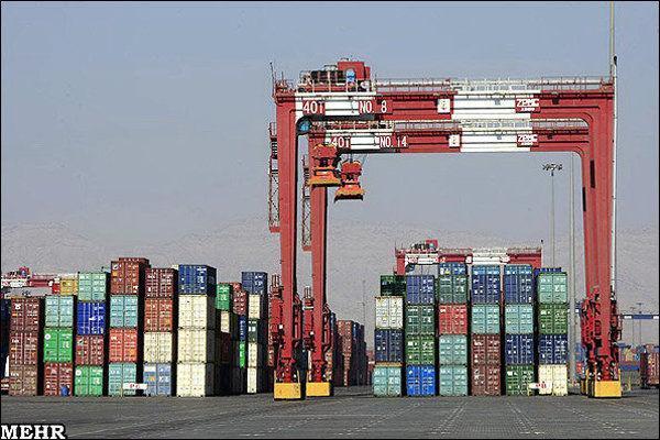 افزایش 33 درصدی صادرات از مرز پرویزخان قصرشیرین، یک میلیون و 344 هزار تن کالا صادر شد