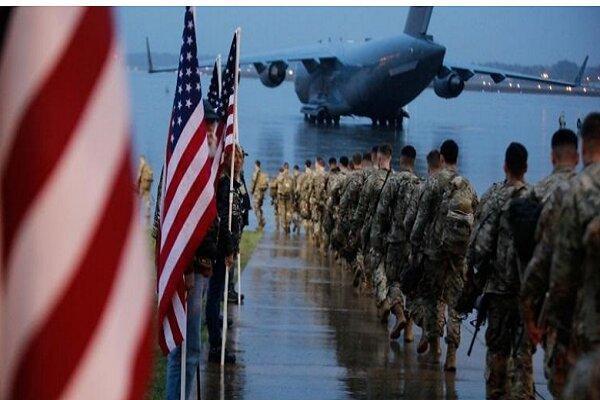 تعدادی دیگر از نظامیان آمریکایی، افغانستان را ترک می نمایند