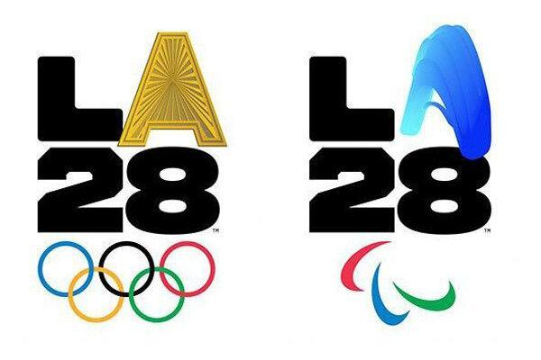 لوگوی المپیک و پارالمپیک 2028 لس آنجلس رونمایی شد