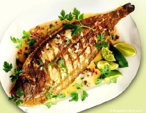 طرز صحیح پاک کردن ماهی