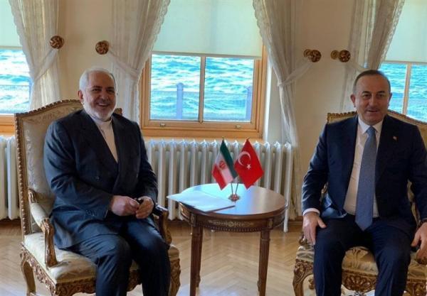 توییت فارسی چاووش اوغلو پس از ملاقات با ظریف