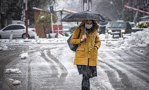 هواشناسی ایران 1400، 01، 6؛ تداوم بارش برف و باران و احتمال سیلاب و کولاک برف در 8 استان