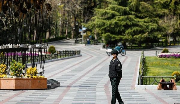 درخواست پلیس برای اجتناب از تجمع در بوستانها