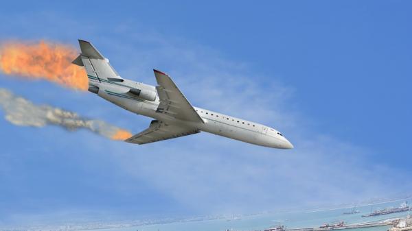 تمام سرنشینان هواپیمای آنتونف جان باختند