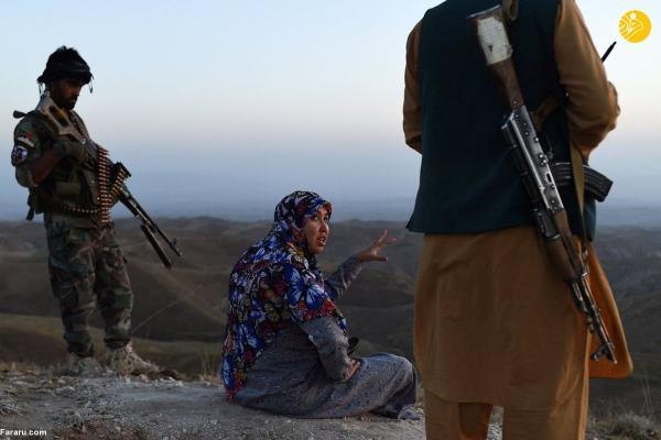 خانم بخشدار در جنگ با طالبان