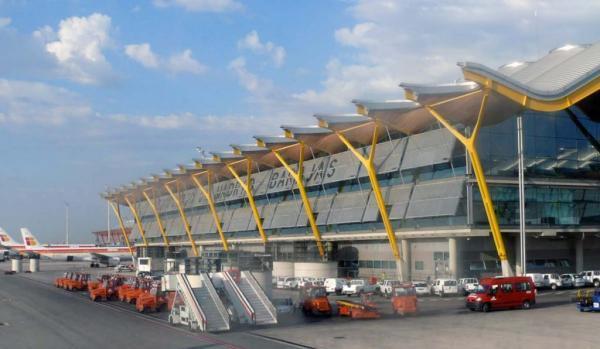معرفی فرودگاه باخاراس مادرید، اسپانیا