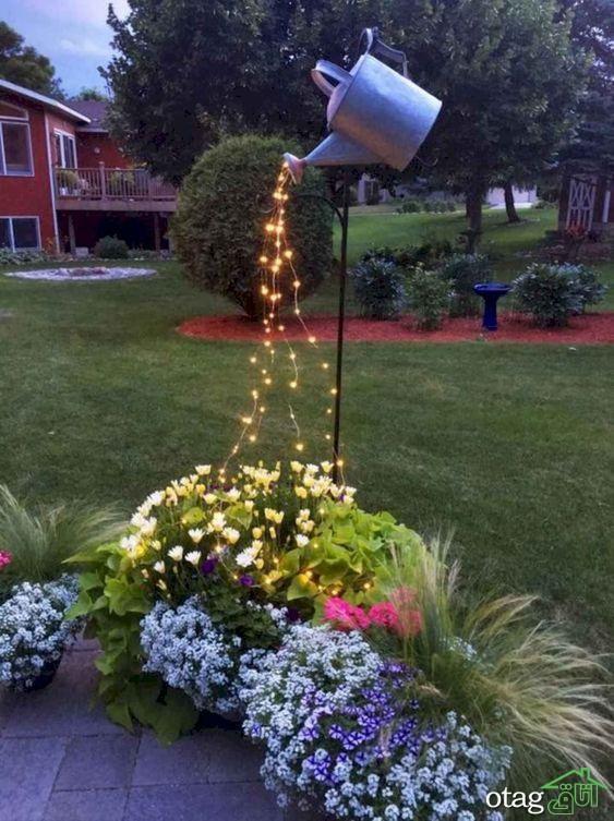 راهنمای چیدمان و تزئین دکوراسیون حیاط منزل با هزینه ای کم