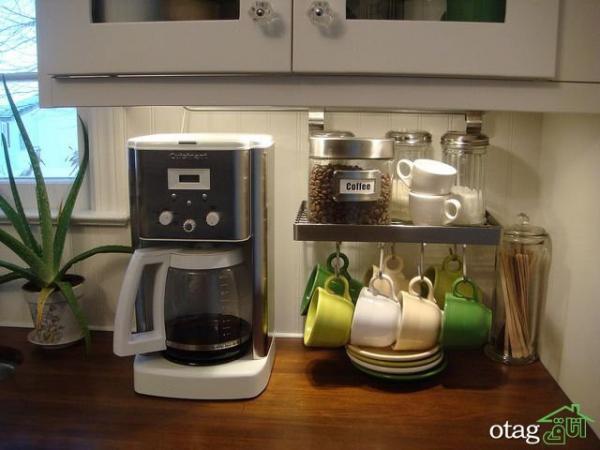 کافی بار خانگی، 6 ایده مجذوب کننده برای ساخت ایستگاه قهوه در خانه